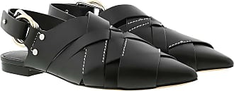 3.1 Phillip Lim Sandals - Deanna Woven Pointy Flat Black - black - Sandals for ladies
