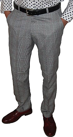 Relco Prince of Wales Sta Press Trousers Sizes 30-40 Available (34)