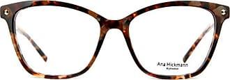 Ana Hickmann Óculos de Grau Ana Hickmann Ah6360 G22/53 Tartaruga Marrom/dourado