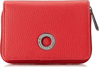 Mandarina Duck Mellow Leather Womens Wallet, Red (Flame Scarlet), 3x10x14 Centimeters (W x H x L)