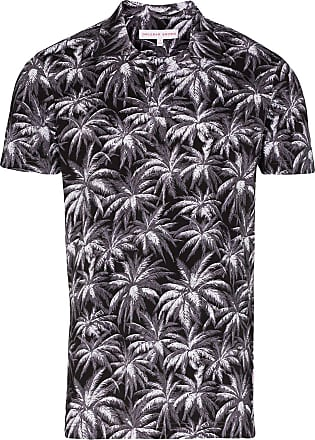 Orlebar Brown Felix palm print T-shirt - Grey
