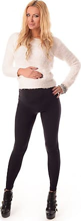 Purpless Maternity Leggings Pregnancy Belly Support Stretchy Long Over Bump Cotton Trousers for Pregnant Women 1000 (18, Black)