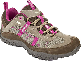 Trespass Fell, Taupe/Cerise, 36, Hiking Boots for Women, UK Size 3, Multicolour