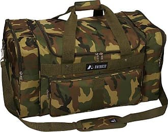 Everest Woodland Camo Duffel Bag, Camouflage, One Size