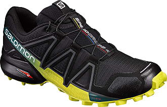 Salomon Tênis Salomon Speedcross 4 Preto/Verde/Am Masculino (43)