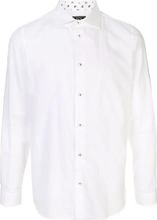 Loveless Camisa com gola colarinho - Branco