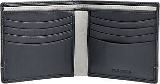 Dents Mens RFID Blocking Protection Natural Grain Leather Wallet - Navy/Charcoal Grey