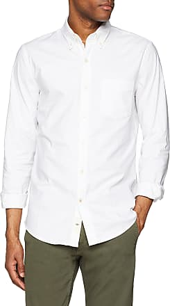 Dockers Mens Stretch Oxford Shirt Casual, White (Paper White 0000), Medium