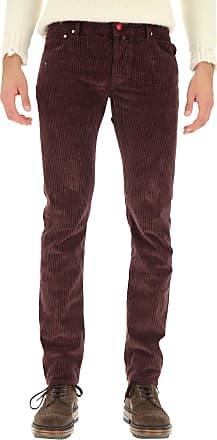 Jacob Cohen Jeans On Sale, dark Burgundy, Cotton, 2019, 30 32 34 36 38