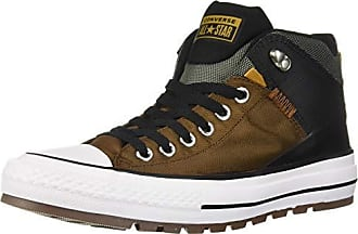 Converse Mens Chuck Taylor All Star High Top Sneaker Boot, Chestnut Brown/Black, 6.5 M US