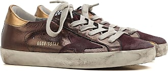 Golden Goose Sneakers for Women On Sale in Outlet, Bronze, Leather, 2017, 5
