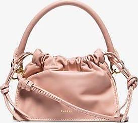 Yuzefi Womens Pink Mini Bom Soft Leather Bag