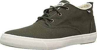 Keds Womens Triumph Mid Canvas Faux Shearling Fashion Sneaker