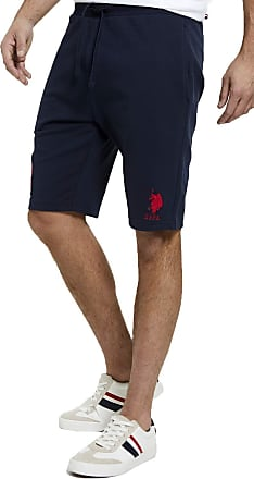 U.S.Polo Association U.S. Polo Assn Mens Player Sweat Shorts - Navy Blazer - XX Large