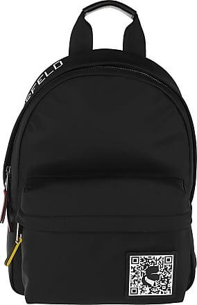 Karl Lagerfeld Pixel Nylon Backpack Black Rucksack schwarz