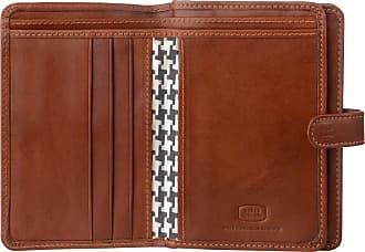 Antica Toscana Portefeuille pour femme en Cuir Italien Nombreux  compartiments avec Porte-monnaie zippé Porte 189cd9dc594