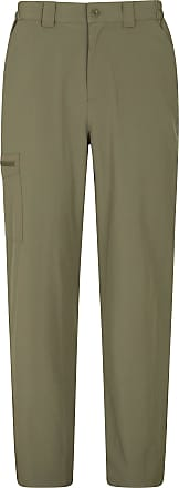 Mountain Warehouse Stride Stretch Mens Trousers - UPF50+ Winter Short Pants, Lightweight Bottoms, Quick Dry, Elastic Waistband - for Travelling, Camping, Hiking, Walking