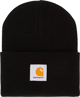 Carhartt Work in Progress Gorro com patch de logo - Preto