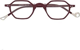 Eyepetizer square frame glasses - Vermelho