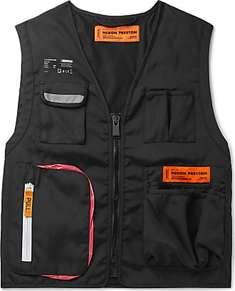 HPC Trading Co. Reflective-trimmed Canvas Gilet - Black