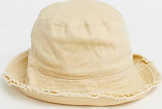Asos Cappello da pescatore con risvolto posteriore color pietra