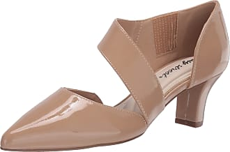 Easy Street Womens Pump, Nude Patent