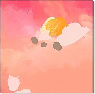 The Oliver Gal Artist Co. The Oliver Gal Artist Co. Abstract Wall Art Canvas Prints Puesta de Sol Home Décor, 43 x 43, Pink, Orange