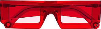 Jacquemus Óculos de sol quadrada Soleil - Vermelho