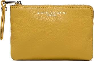 Gianni Chiarini medium size essential wallet color yellow