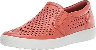 Ecco Womens Womens Soft 7 Slip-on Sneaker, Apricot Laser Cut, 42 M EU (11-11.5 US)