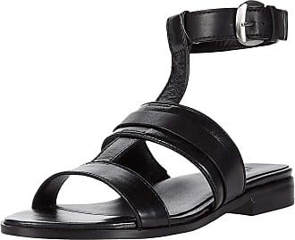 Naturalizer 27 Edit Elva Black Crinkle Leather 9.5