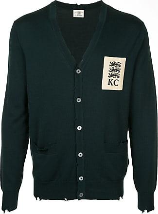 Kent & Curwen v-neck cardigan - Green