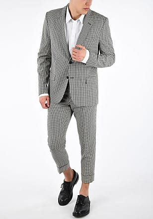 Ami Checked Suit size 50