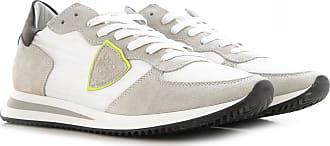 Philippe Model Sneaker für Herren, Tennisschuh, Turnschuh Günstig im Outlet Sale, Weiss, Nylon, 2019, 40 41 42 43 44 45 46