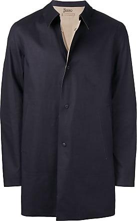 Herno poplin coat - Blue