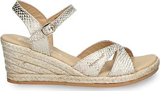 Panama Jack Womens Sandals Benisa B809 Napa Dorado/Golden 40 EU