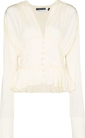 Rotate Blusa Tracy com abotoamento - Branco