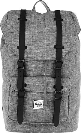 Herschel Little America Mid Volume Backpack Raven Crosshatch Rucksack grau