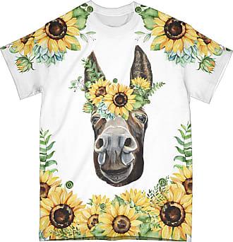 NA Donkey Sunflower 3D Shirt