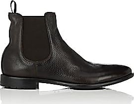 Barneys New York Mens Washed Leather Chelsea Boots - Brown Size 10.5 M