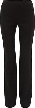Giambattista Valli High-rise Cotton-blend Crepe Trousers - Womens - Black