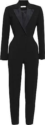 A.L.C. A.l.c. Woman Kensington Cutout Stretch-crepe Jumpsuit Black Size 2
