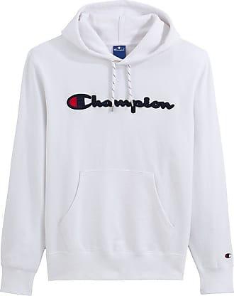 Champion Kapuzensweatshirt mit Logo - BLAU;GRAU;SCHWARZ;WEISS;GRÜN;ROSA - CHAMPION