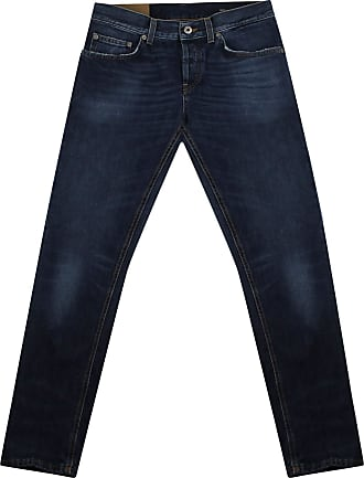 Dondup Jeans Mius Uomo in Cotone blu Scuro UP168DF0239 Blu 31