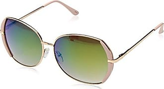 Jessica Simpson Womens J5494 Rgdpk Round Sunglasses, Rose Gold/Pink, 58 mm
