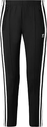adidas Originals Superstar Striped Stretch-jersey Track Pants - Black