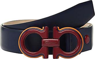 Salvatore Ferragamo Adjustable Belt - 67A005 (Ultramarine) Mens Belts