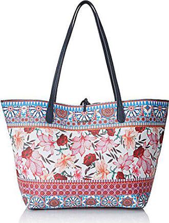 ca4eb5a77 Desigual Bols_aria Capri, Shoppers y bolsos de hombro para Mujer, Turquesa  (Turquesa Technic