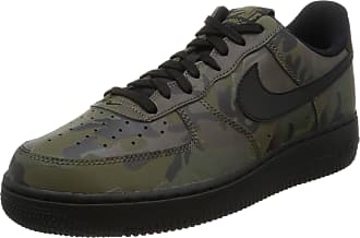Nike Mens Air Force 1 07 LV8 Reflective CAMO Shoes Medium Olive/Black 718152-203 Size 7.5