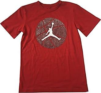 Nike Jordan Air Big Boys Tee Shirt Gym Red Size Large (12-13 Years)